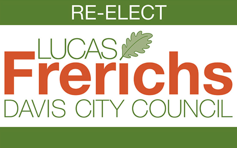 Lucas Frerichs for Davis City Council in 2020